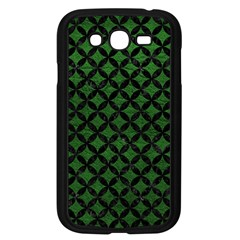 Circles3 Black Marble & Green Leather (r) Samsung Galaxy Grand Duos I9082 Case (black)