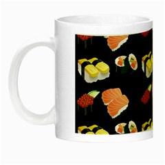 Sushi Pattern Night Luminous Mugs
