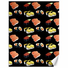 Sushi Pattern Canvas 18  X 24