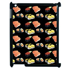Sushi Pattern Apple Ipad 2 Case (black)