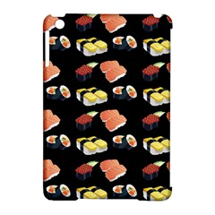 Sushi Pattern Apple Ipad Mini Hardshell Case (compatible With Smart Cover)