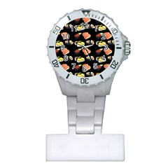Sushi Pattern Plastic Nurses Watch