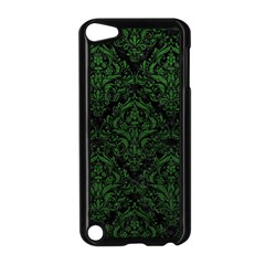 Damask1 Black Marble & Green Leather Apple Ipod Touch 5 Case (black)
