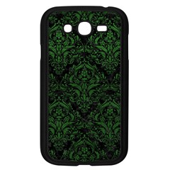 Damask1 Black Marble & Green Leather Samsung Galaxy Grand Duos I9082 Case (black)