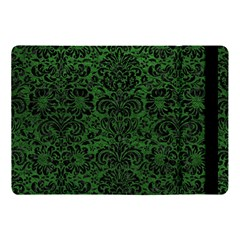 Damask2 Black Marble & Green Leather (r) Apple Ipad Pro 10 5   Flip Case