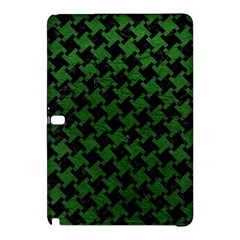 Houndstooth2 Black Marble & Green Leather Samsung Galaxy Tab Pro 10 1 Hardshell Case