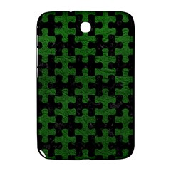 Puzzle1 Black Marble & Green Leather Samsung Galaxy Note 8 0 N5100 Hardshell Case