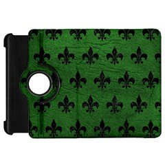 Royal1 Black Marble & Green Leather Kindle Fire Hd 7