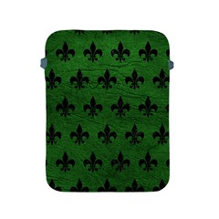 Royal1 Black Marble & Green Leather Apple Ipad 2/3/4 Protective Soft Cases