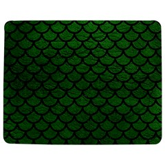 Scales1 Black Marble & Green Leather (r) Jigsaw Puzzle Photo Stand (rectangular)