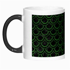 Scales2 Black Marble & Green Leatherscales2 Black Marble & Green Leather Morph Mugs