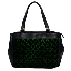Scales2 Black Marble & Green Leatherscales2 Black Marble & Green Leather Office Handbags