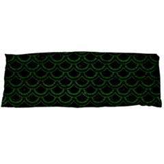 Scales2 Black Marble & Green Leatherscales2 Black Marble & Green Leather Body Pillow Case Dakimakura (two Sides)
