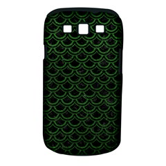 Scales2 Black Marble & Green Leatherscales2 Black Marble & Green Leather Samsung Galaxy S Iii Classic Hardshell Case (pc+silicone)
