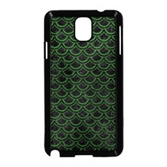 Scales2 Black Marble & Green Leatherscales2 Black Marble & Green Leather Samsung Galaxy Note 3 Neo Hardshell Case (black)