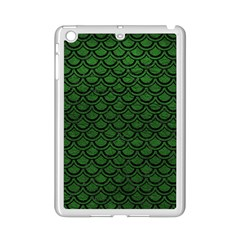 Scales2 Black Marble & Green Leather (r) Ipad Mini 2 Enamel Coated Cases