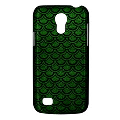 Scales2 Black Marble & Green Leather (r) Galaxy S4 Mini