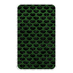 Scales3 Black Marble & Green Leather Memory Card Reader