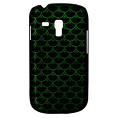 Scales3 Black Marble & Green Leather Galaxy S3 Mini