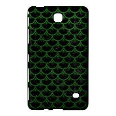 Scales3 Black Marble & Green Leather Samsung Galaxy Tab 4 (8 ) Hardshell Case