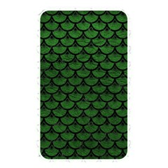 Scales3 Black Marble & Green Leather (r) Memory Card Reader
