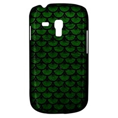 Scales3 Black Marble & Green Leather (r) Galaxy S3 Mini