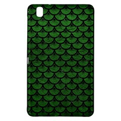 Scales3 Black Marble & Green Leather (r) Samsung Galaxy Tab Pro 8 4 Hardshell Case