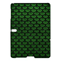 Scales3 Black Marble & Green Leather (r) Samsung Galaxy Tab S (10 5 ) Hardshell Case