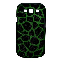 Skin1 Black Marble & Green Leather (r) Samsung Galaxy S Iii Classic Hardshell Case (pc+silicone)