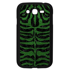 Skin2 Black Marble & Green Leather Samsung Galaxy Grand Duos I9082 Case (black)