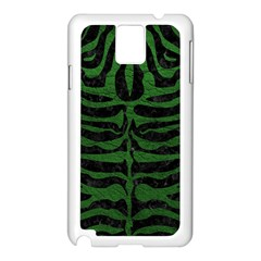 Skin2 Black Marble & Green Leather Samsung Galaxy Note 3 N9005 Case (white)