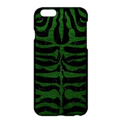 Skin2 Black Marble & Green Leather Apple Iphone 6 Plus/6s Plus Hardshell Case