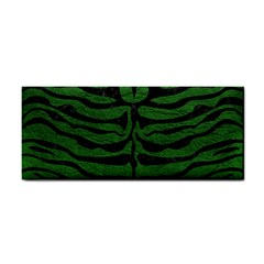 Skin2 Black Marble & Green Leather (r) Cosmetic Storage Cases