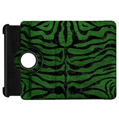 Skin2 Black Marble & Green Leather (r) Kindle Fire Hd 7