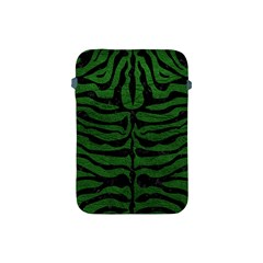 Skin2 Black Marble & Green Leather (r) Apple Ipad Mini Protective Soft Cases