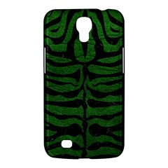 Skin2 Black Marble & Green Leather (r) Samsung Galaxy Mega 6 3  I9200 Hardshell Case