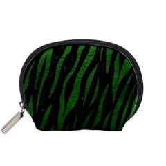Skin3 Black Marble & Green Leather Accessory Pouches (small)