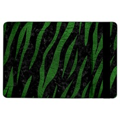 Skin3 Black Marble & Green Leather Ipad Air 2 Flip
