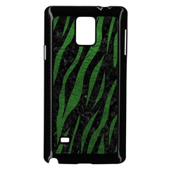 Skin3 Black Marble & Green Leather Samsung Galaxy Note 4 Case (black)