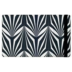 Art Deco, Black,white,graphic Design,vintage,elegant,chic Apple Ipad 2 Flip Case