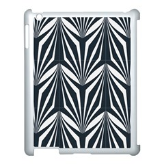 Art Deco, Black,white,graphic Design,vintage,elegant,chic Apple Ipad 3/4 Case (white)