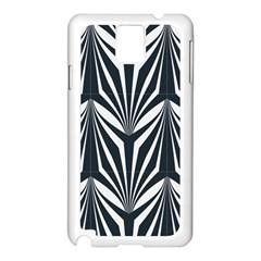 Art Deco, Black,white,graphic Design,vintage,elegant,chic Samsung Galaxy Note 3 N9005 Case (white)