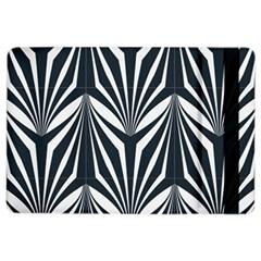 Art Deco, Black,white,graphic Design,vintage,elegant,chic Ipad Air 2 Flip