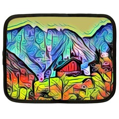 Magic Cube Abstract Art Netbook Case (xxl)