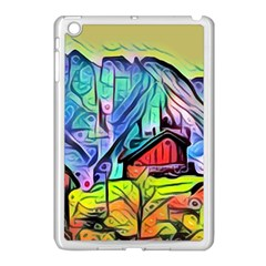 Magic Cube Abstract Art Apple Ipad Mini Case (white)