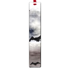 Bats On  The Moon Large Book Marks