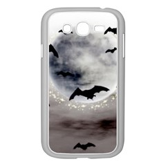 Bats On  The Moon Samsung Galaxy Grand Duos I9082 Case (white)