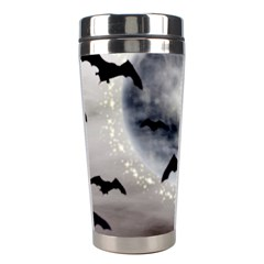Bats On  The Moon Stainless Steel Travel Tumblers