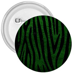 Skin4 Black Marble & Green Leather 3  Buttons