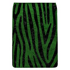 Skin4 Black Marble & Green Leather Flap Covers (s)